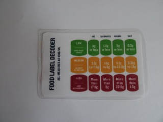food label decoder