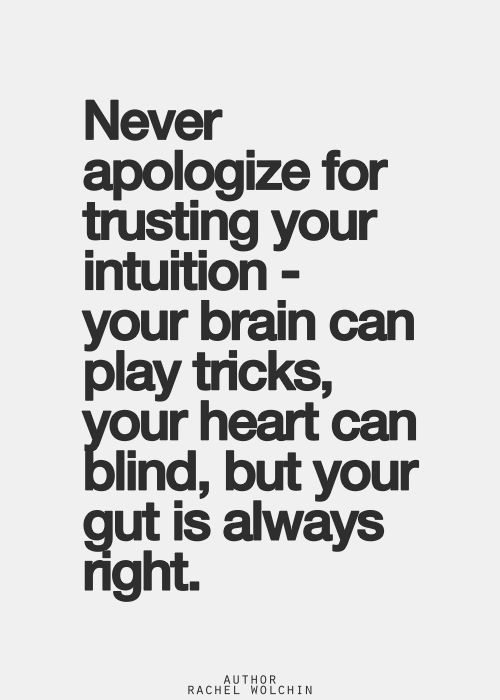 Trust Your Gut Instinct My Wellbeing And Learning Journey