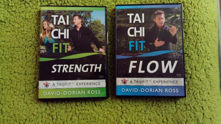 Tai Chi Fit - 'Strength' and 'Flow' DVD's.