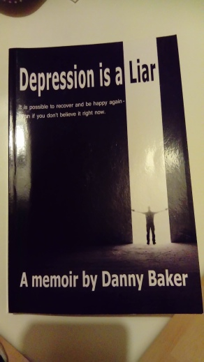 book cover of Depression is a liar by Danny Baker