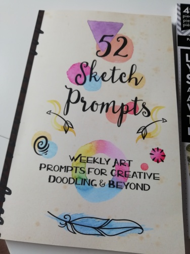 Crafty journal prompts book