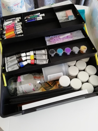 Inside my art box