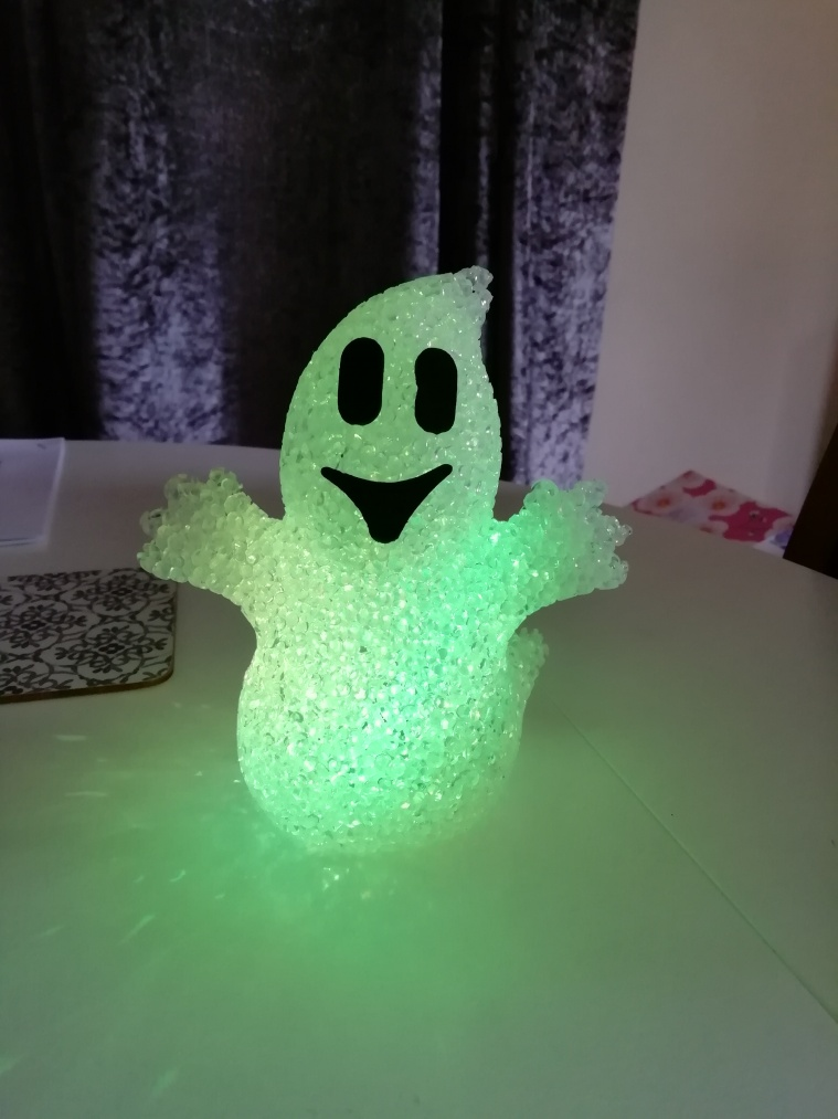 Light up ghost which changes colour