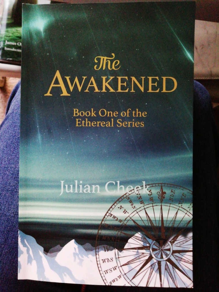 Book cover of The Awakened by Julian Cheek.