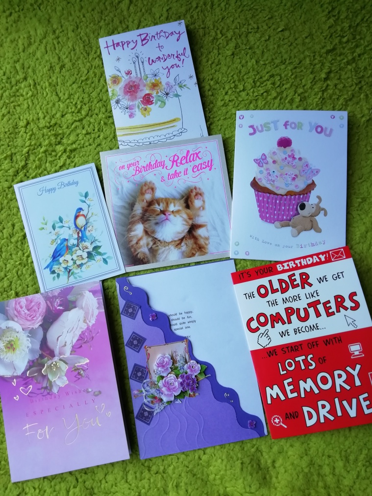 Some birthday cards