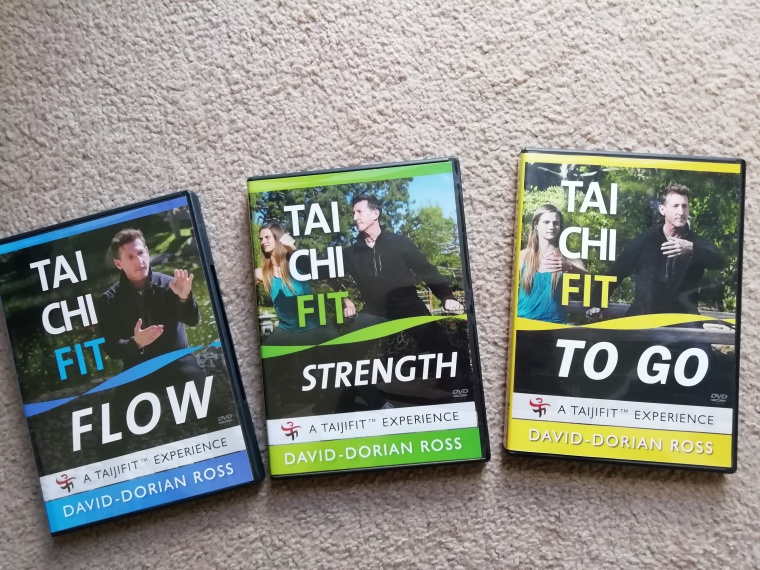 3 dvd's of Tai chi I have