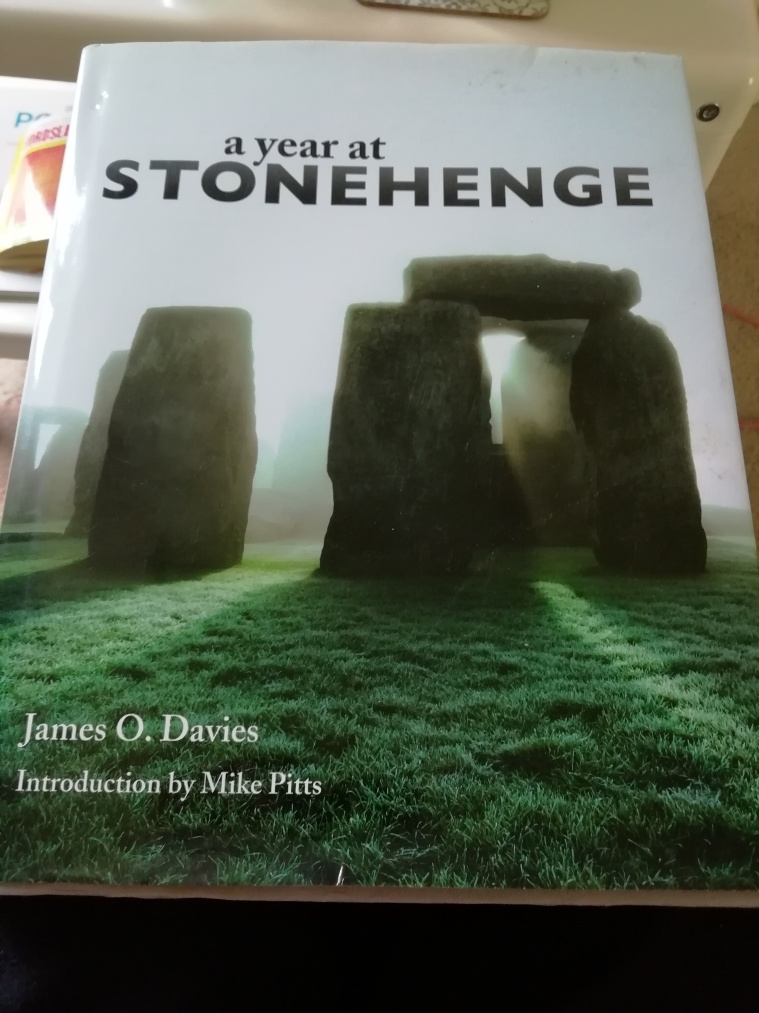 Cover of book a year at stonehenge